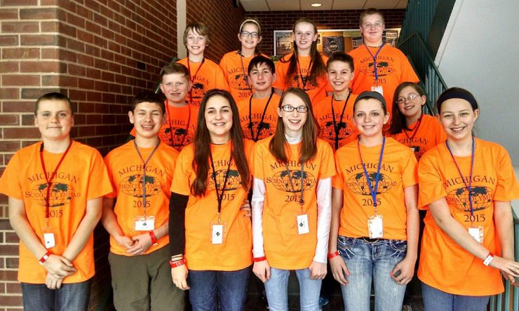 Holy Name students place at NMU's Science Olympiad event