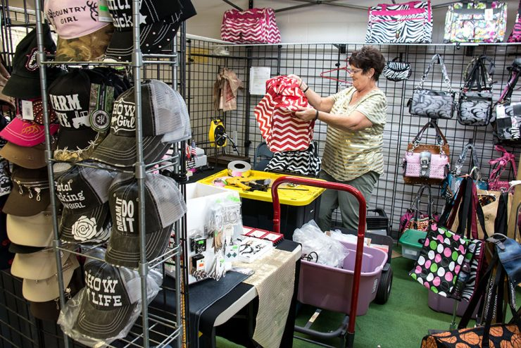 Vendors getting ready for Upper Peninsula State Fair