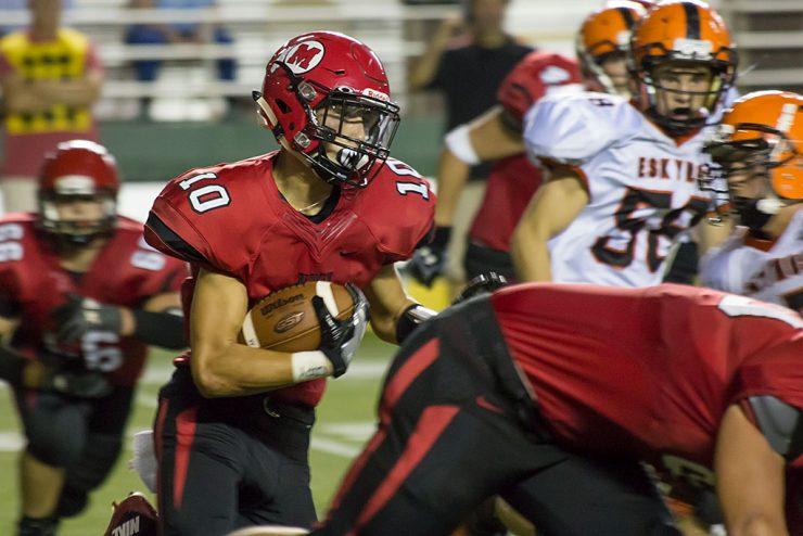 Escanaba defeats Marquette for fourth straight football win