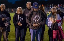 Tackle Cancer program at Sault football game highlights awareness