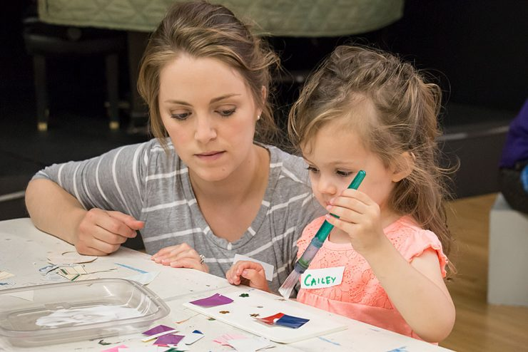 Toddler Art program helps develop literacy, motor skills