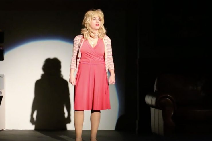 Mead takes on role played by icon singer Dolly Parton in '9 to 5'