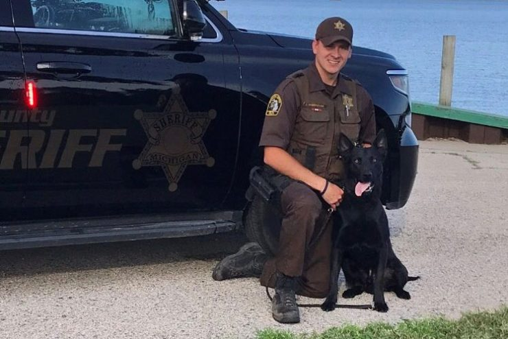 Protective vest donated to Delta County Sheriff K-9