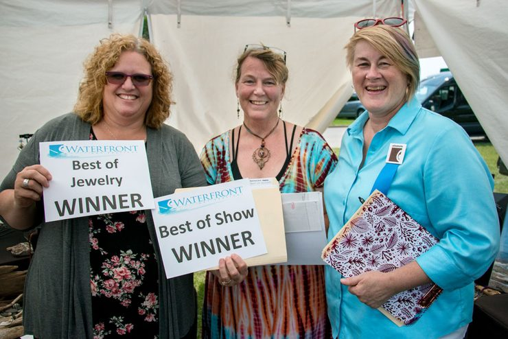 Waterfront Arts Festival award winners talk about their art