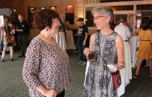 Reception held for Crossing the Straits exhibit on Mackinac Island