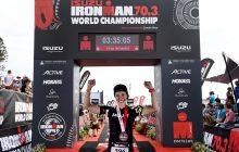U.P. competitor completes goal of World Half Ironman Championship