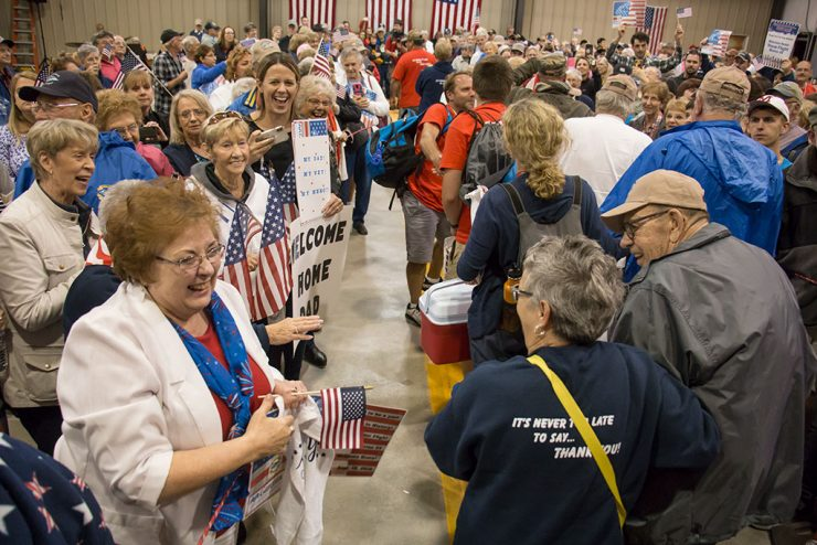 Welcome Home event affects veterans on Upper Peninsula Honor Flight