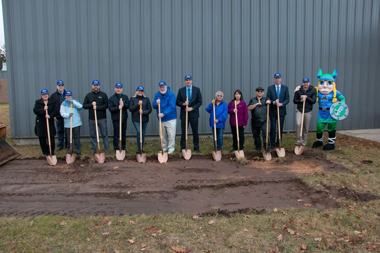Bay College breaks ground on Phase 1 of gymnasium expansion