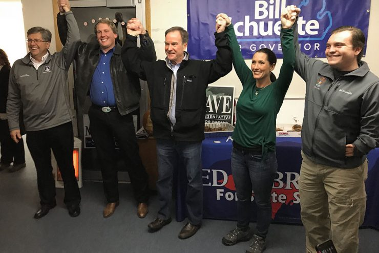 Schuette, Postumus Lyons make get out the vote push in U.P.