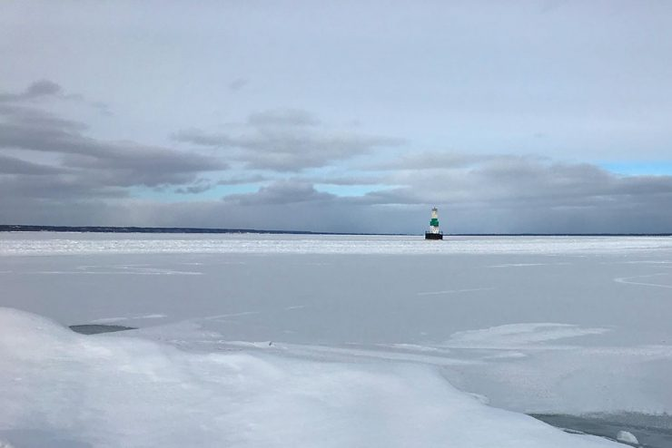 Ice breaking operations planned Sunday for Little Bay de Noc