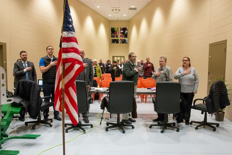 Delta County Commissioners hold meeting in new jail