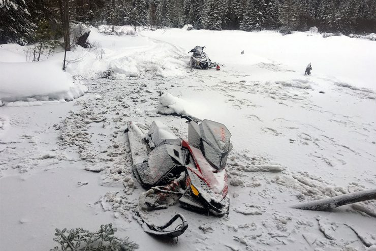DNR conservation officers respond during stormy, cold, wintry weather