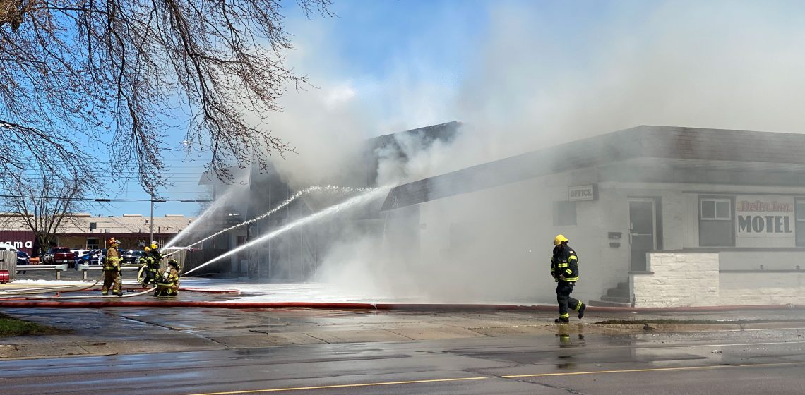 Delta Inn fire kills two, injuries three in Escanaba