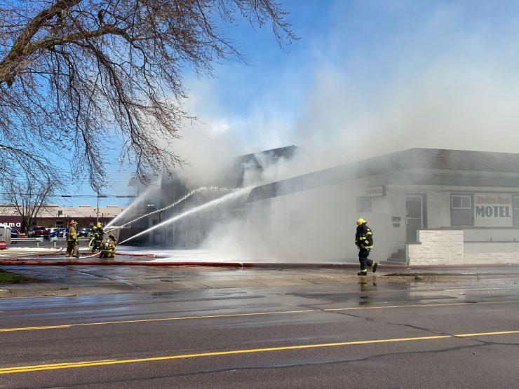 Delta Inn fire kills two, injuries three in Escanaba